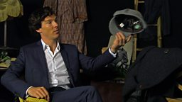 Web exclusive: Benedict Cumberpatch on the look of Sherlock