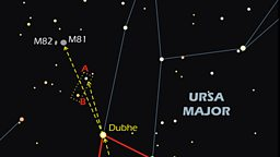 Section of Pete Lawrence's chart to find M81 and M82