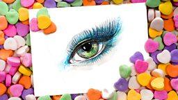 Eye candy 虚有其表的人或物