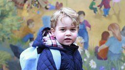 Prince George's first day at nursery 乔治王子:幼儿园第一天