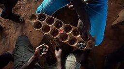 Ghana's gamers 加纳民俗游戏