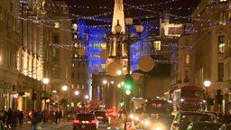 2015 London Christmas glow 圣诞彩灯照亮伦敦