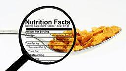 """Exercise labels on food proposed 英国健康专家提议食品包装需注明""""运动量"""""""