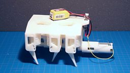 Hydraulic robot printed 三维打印的液压机器人