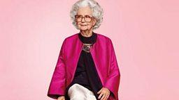 100-year-old model 百岁模特秀时尚
