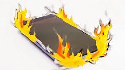 Samsung smartphone problem, zoo chimps feeling wild 三星智能手机问题,动物园的黑猩猩野性十足