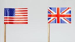英式英语和美式英语:相同表达中措词的区别