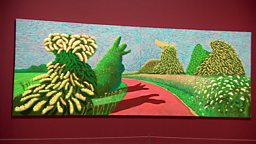 Hockney's exhibition and disabled cast's play  大卫·霍克尼作品回顾展、残障人士表演戏剧