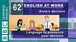 Anna's decision