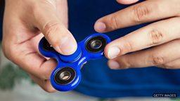 Fidget spinning 指尖陀螺