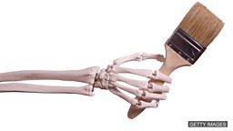 Work one's fingers to the bone 拼命工作