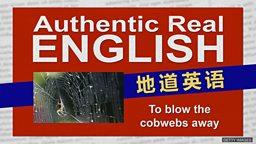 "To blow the cobwebs away 吹走蜘蛛网就能让人""振作精神""?"