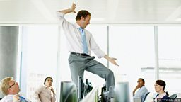 Can men dance? 男性会跳舞吗?