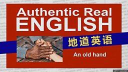 "An old hand 英国人也说""老手"""