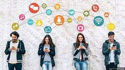 小测验 — 与手机有关的常用词汇