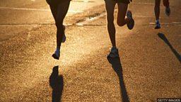 """小测验 — 与""""跑步""""相关的表达"""