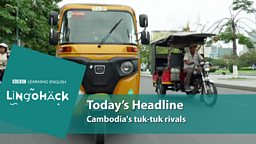 Cambodia's tuk-tuk rivals