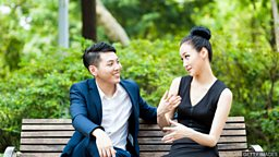 Ask someone out 请人出来约会