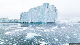Rain melting Greenland ice sheet  'even in winter' 冬日雨水融化格陵兰冰盖
