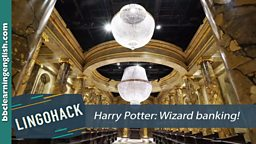 Harry Potter: Wizard banking!