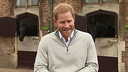 Prince Harry: Proud father