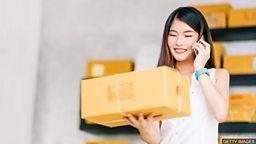 British postal system to launch parcel postboxes 英国将推出可收包裹的红色邮筒