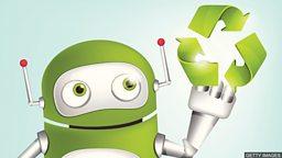 Robot recycling 垃圾分拣机器人