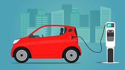 Electric car island