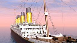Titanic sub dive reveals parts are being lost to sea 深海探险队发现泰坦尼克号残骸腐蚀严重