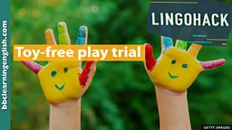 Toy-free play trial