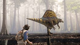 7. Spinosaurus and Scan