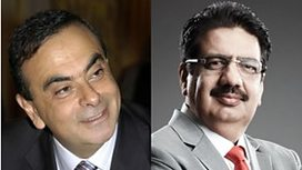 Image for Carlos Ghosn and Vineet Nayar
