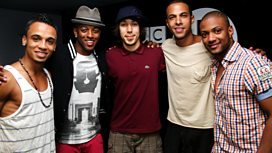 Image for JLS co-host the show!