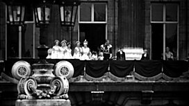 Image for The Queen's Appearance on the Balcony of the Palace