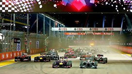 Image for The Singapore Grand Prix - Highlights