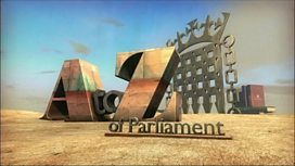 A to Z of Parliament graphic