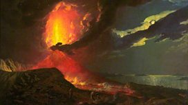 Volcano paintings