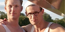 Matt Smith on pain behind 1948 Olympics' Bert and Dickie
