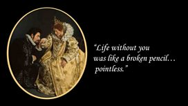 Blackadder Wallpaper