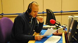 Evan Davis interviews Garry Richardson about the Lion and the Unicorn in the Today studio