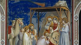 Giotto's 'The Adoration of the Magi' 1304-1306
