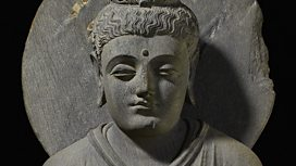 Seated Buddha from Gandhara