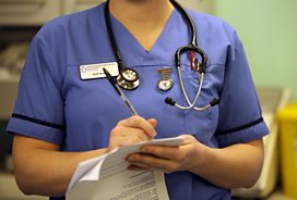 NHS nurses 'penalised for caring'