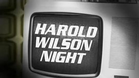 Harold Wilson Night TV screen logo