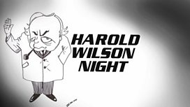 Harold Wilson cartoon