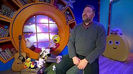 CBeebies interviews Guy about his Childhood