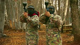 Paintballing in Gospic