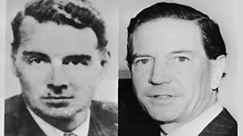 Kim Philby and Guy Burgess