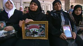 Mothers of Syrian fighters