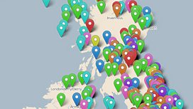Radio 3 Breakfast map